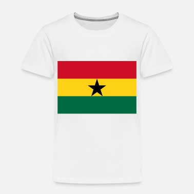 Ghana country flag love my land patriot - Toddler Premium T-Shirt