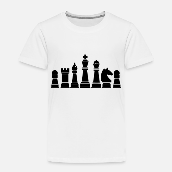 Chess Board Baby Clothing - chess board - Toddler Premium T-Shirt white