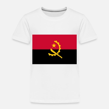 Coat Of Arms Flag of Angola - Toddler Premium T-Shirt
