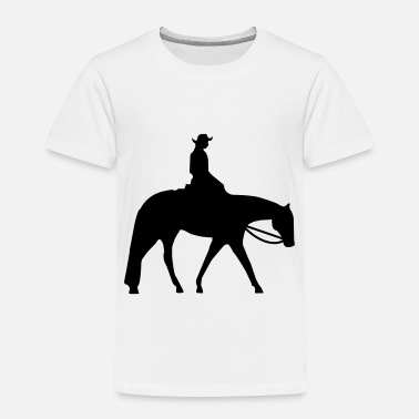 Western Quarter Horse Western Pleasure - Toddler Premium T-Shirt
