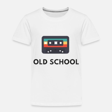 old school casette , old music - Toddler Premium T-Shirt