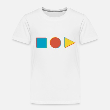 Shape in shape - Toddler Premium T-Shirt
