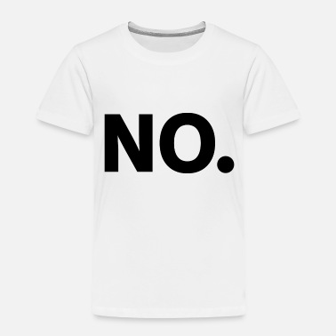 Fredo No. (Black) - Toddler Premium T-Shirt