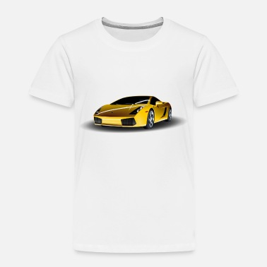 Lamborghini Lamborghini Sports Car Motive - Toddler Premium T-Shirt