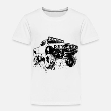 Off Off-Road Race Truck - Toddler Premium T-Shirt