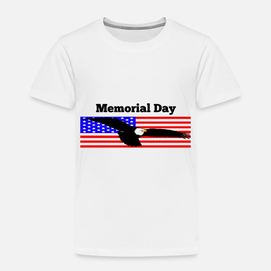 Memorial Day Baby Clothing - Memorial Day - Toddler Premium T-Shirt white