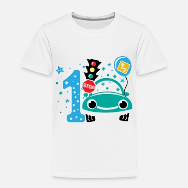 Party First birthday boy 1st birthday toddler gift 1year - Toddler Premium T-Shirt