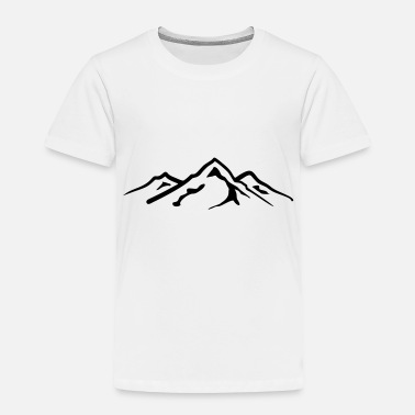 Mountains Mountain, Mountains - Toddler Premium T-Shirt