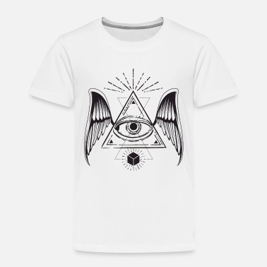 All Seeing Eye All seeing eye with wings - Toddler Premium T-Shirt