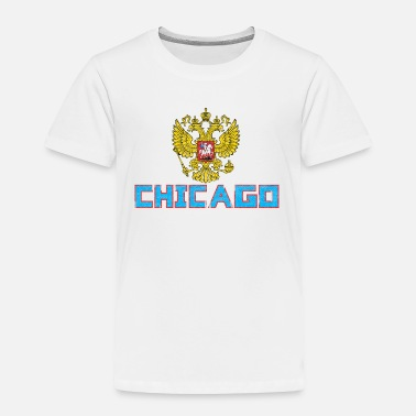 Womens Russian Flag Chicago Russian Flag - Toddler Premium T-Shirt