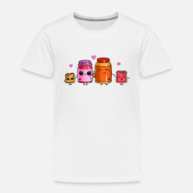 Jelly Peanut Butter and Jelly Family - Toddler Premium T-Shirt