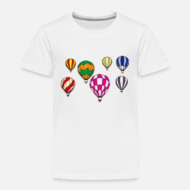 Hot Air Balloon Hot Air Balloons - Toddler Premium T-Shirt