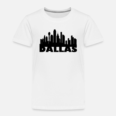 Dallas Skyline Basic Tee - Toddler Premium T-Shirt