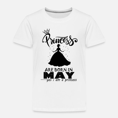 Princess Are Born In...All Months Available Kids T-Shirt