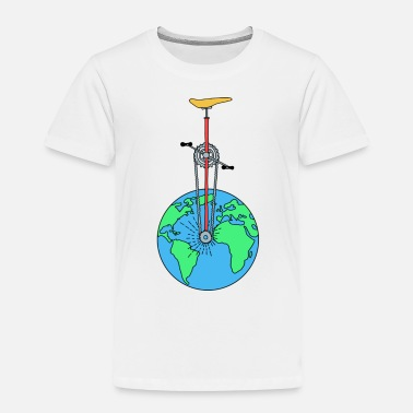 Eco The Eco Wheel - Toddler Premium T-Shirt