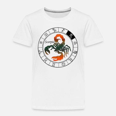 Astrology Scorpio Astrological - Toddler Premium T-Shirt