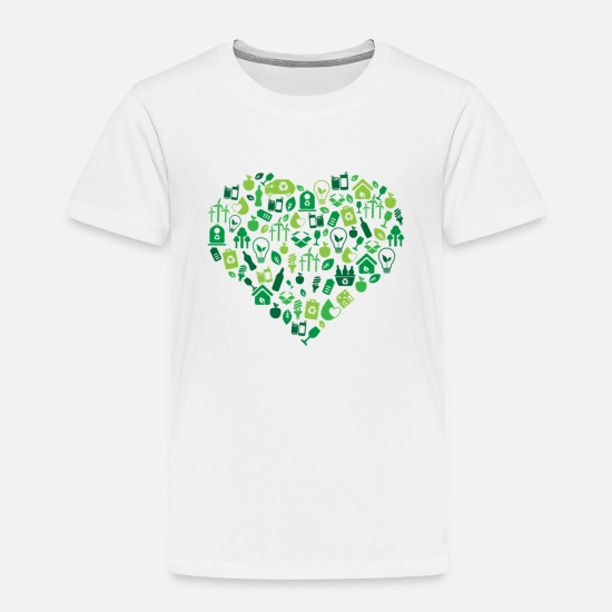 Recycle Baby Clothing - recycle - Toddler Premium T-Shirt white