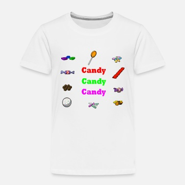 Candy candy candy candy - Toddler Premium T-Shirt