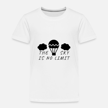 Pilot Hot Air Balloon Pilot Saying - Toddler Premium T-Shirt