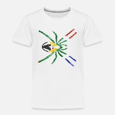 South SOUTH AFRICAN SPIDER FLAG - Toddler Premium T-Shirt