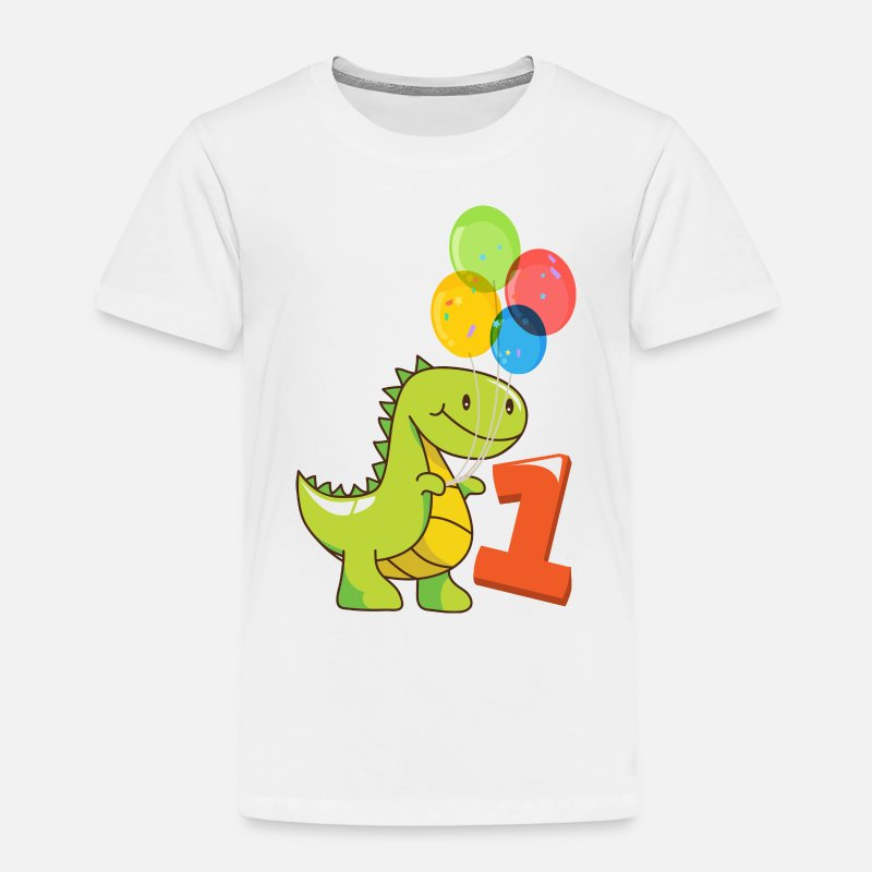 641361c4b89e Toddler Premium T-ShirtFirst birthday girl boy 1st birthday gift cute