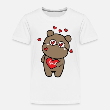 T-shorts CoCo Happy Valentines day - Toddler Premium T-Shirt