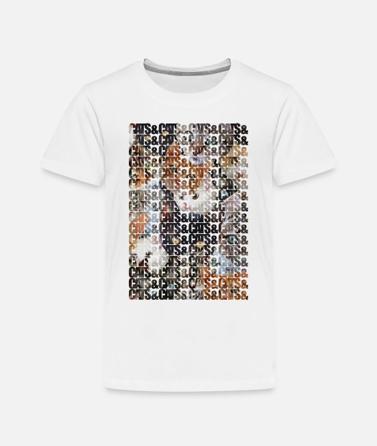 Cats T-Shirts - Cats and Cats and - Toddler Premium T-Shirt white