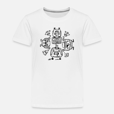 Affection Piggy Affection - Toddler Premium T-Shirt