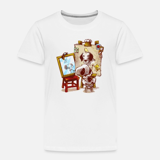 Game Baby Clothing - Triple Beagle Portrait - Toddler Premium T-Shirt white