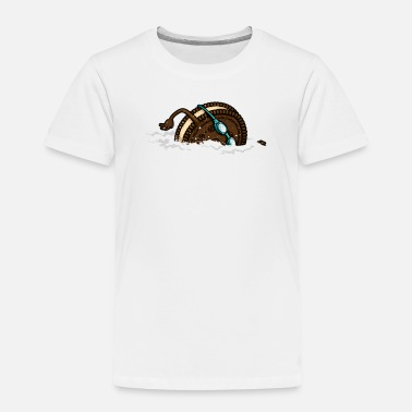 Milk Milk Swimmer - Toddler Premium T-Shirt