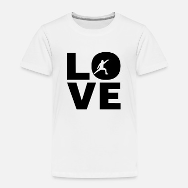 Sword love your sport - Toddler Premium T-Shirt