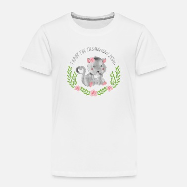 Devil Tabby the Tasmanian Devil - Toddler Premium T-Shirt