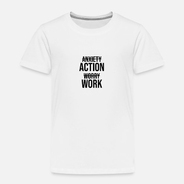 Hustler Anxiety beats Action - Toddler Premium T-Shirt