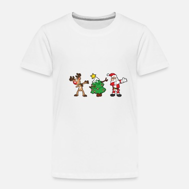 Ugly Christmas Xmas - Toddler Premium T-Shirt