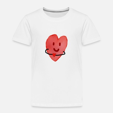 Hearts Heart with a heart - Toddler Premium T-Shirt