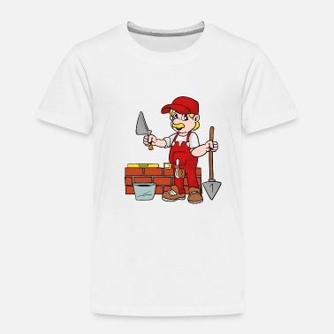 Bricklayer Mason Bricklayer - Toddler Premium T-Shirt