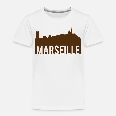Marseille Marseille Skyline - Toddler Premium T-Shirt