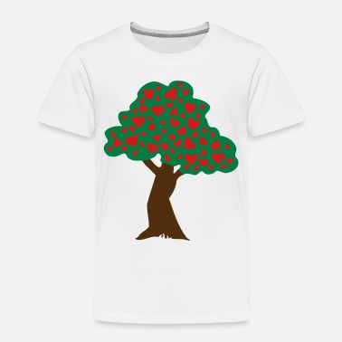 Cherry ❤ټRomantic Heart Tree-Plant Love Treesټ❤ - Toddler Premium T-Shirt