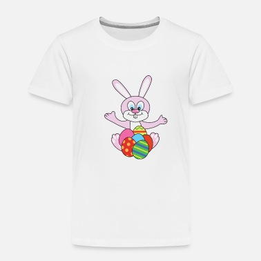 Egg Easter Bunny - Toddler Premium T-Shirt