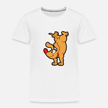 Comic Dachshund - Toddler Premium T-Shirt