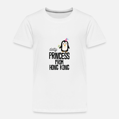 Hong Kong dotty Princess from Hong Kong - Toddler Premium T-Shirt
