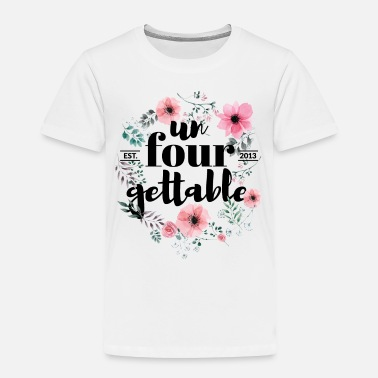 f99cadfc66c15 4th Birthday Tshirt for Girls | Un4gettable funny Kids' Longsleeve ...
