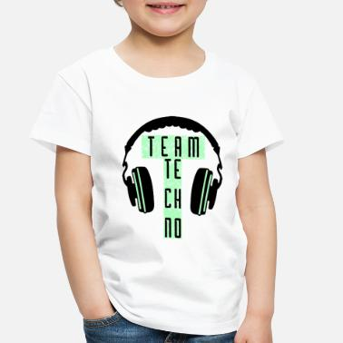 Rave TEAM TECHNO - Toddler Premium T-Shirt