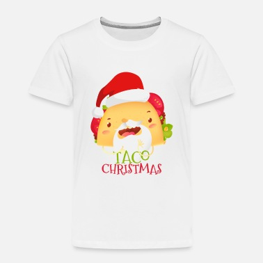 Dream Have a Very Merry Taco Santa Christmas - Toddler Premium T-Shirt