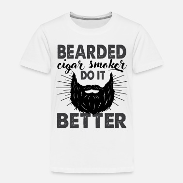 One Piece Whitebeard bearded cigar smoker do it better funny saying tee - Toddler Premium T-Shirt