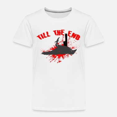 Skate Crow Skater Crow, TILL THE END - Toddler Premium T-Shirt