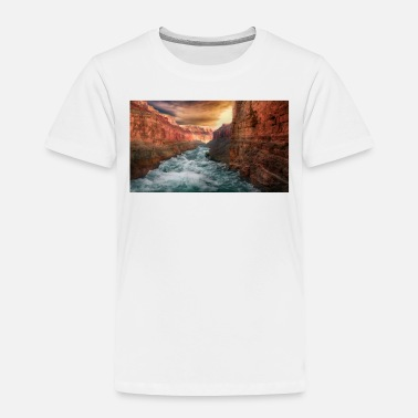Raider Grand Canyon T-Shirt - National Park Shirt Arizona - Toddler Premium T-Shirt