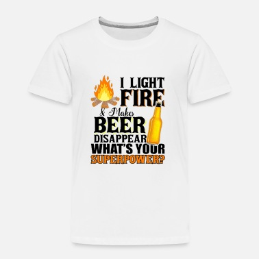 funny camping shirt for beer lovers - Toddler Premium T-Shirt