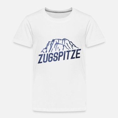 Highest Peak The Zugspitze - Toddler Premium T-Shirt