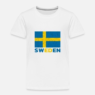 Swede Sweden Flag - Toddler Premium T-Shirt
